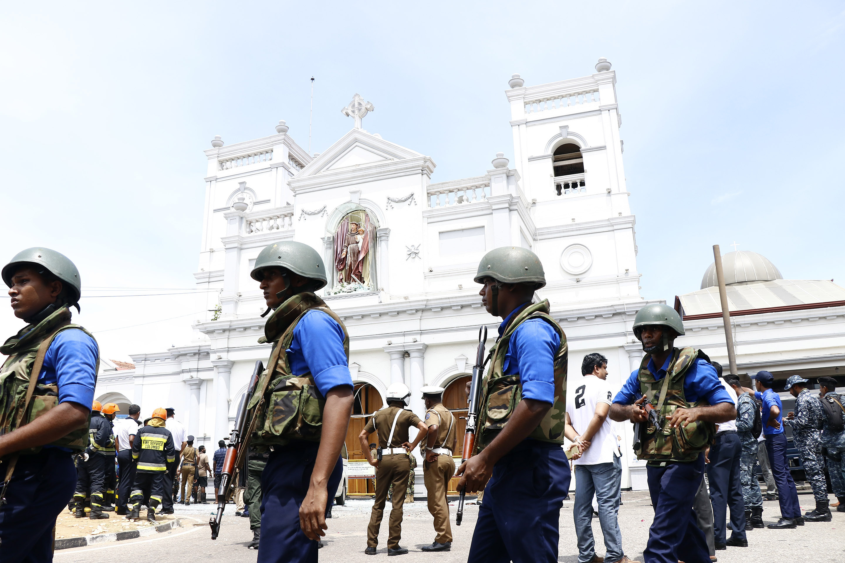 sri lanka easter sunday attacks