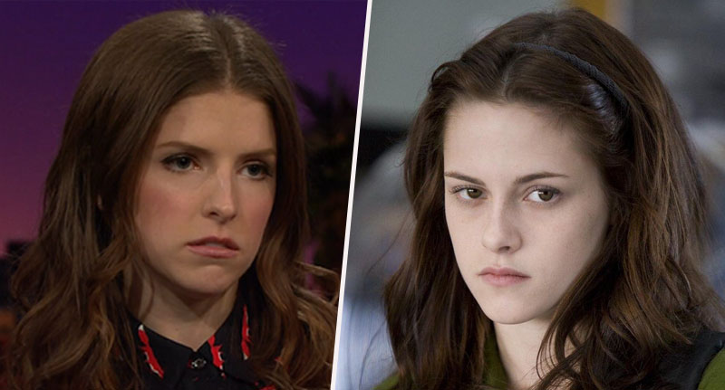 Anna Kendrick and Kristen Stewart Resting bitch face