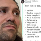 Man's Sexist 'How To Be A Beautiful Woman' Tweet Backfires Immediately