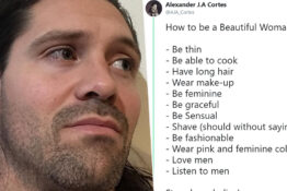 Man tweets sexist rules for women