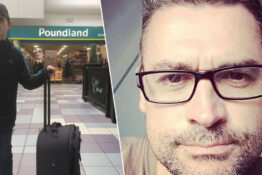 Dad tricks son into going Poundland