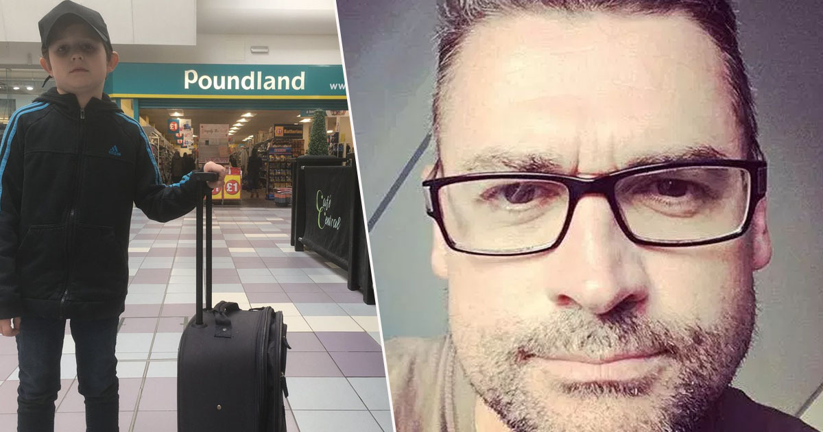 Dad tricks son Poundland
