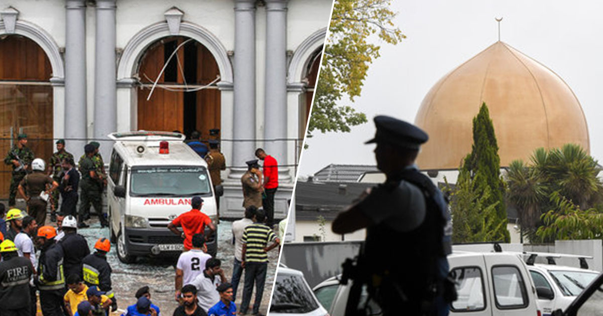 Sri Lankan government say attacks were in response to Christchurch