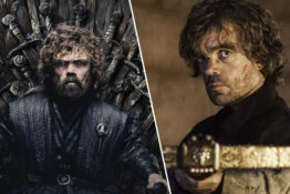 peter dinklage as tyrion on the iron throne hbo game of thrones