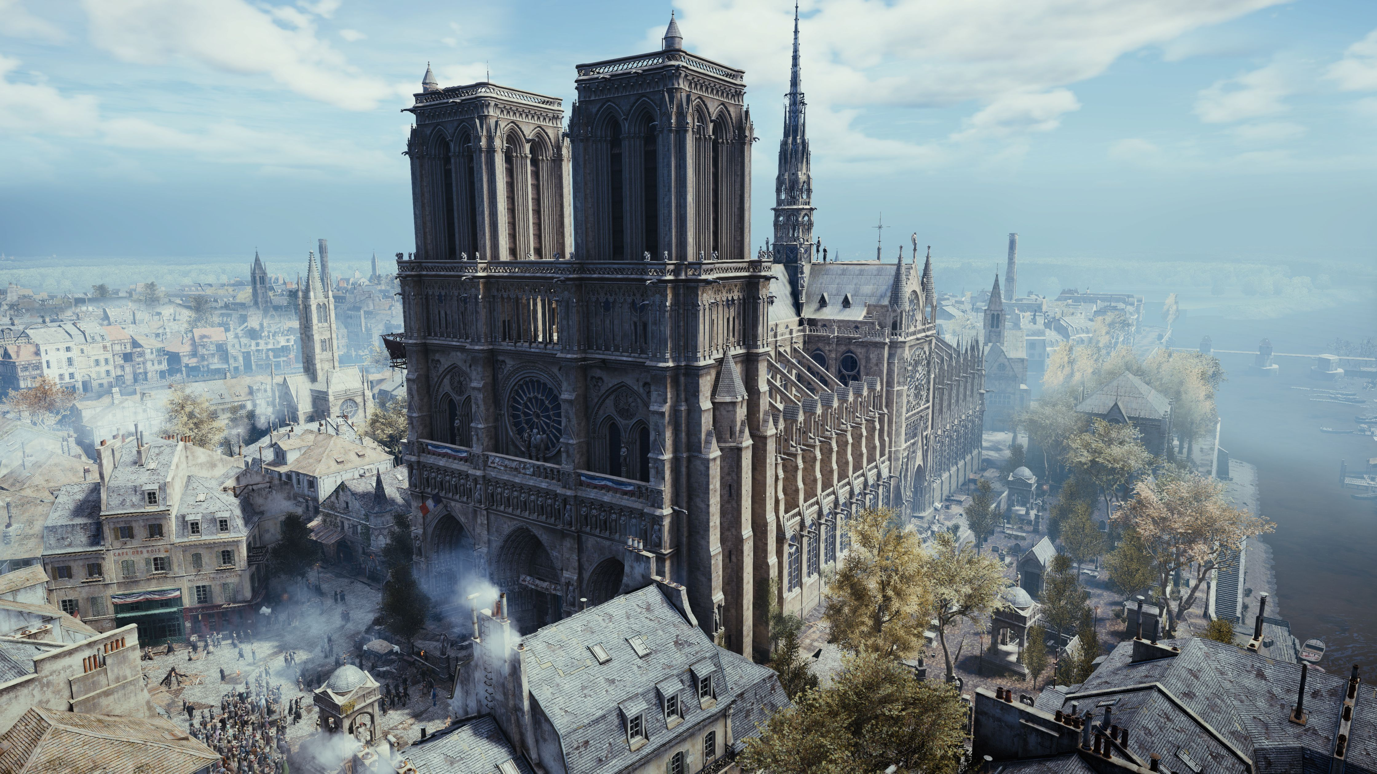 How Notre Dame Could Be Rebuilt With The Help Of Assassin's Creed: Unity