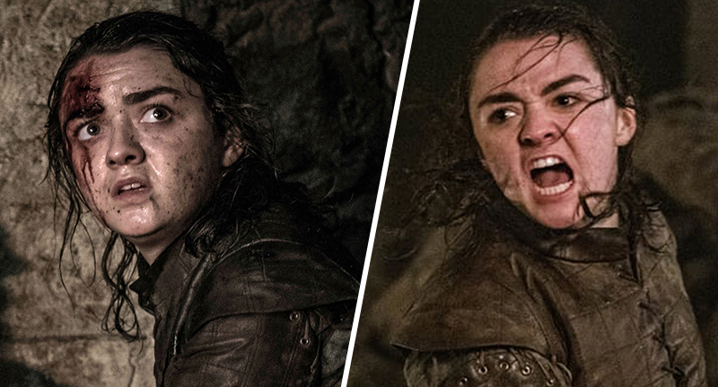 game of thrones fan thinks he knows who arya was disguised as in the long night