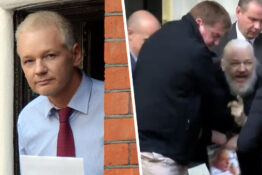 Julian Assange seen for first time in seven years