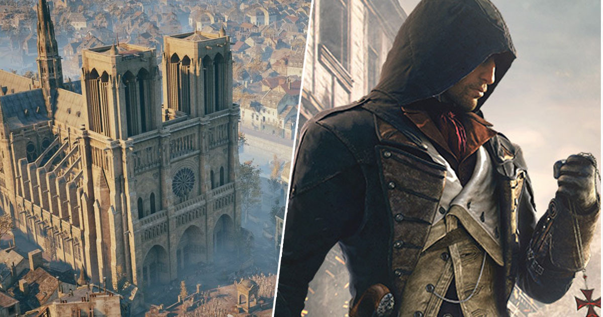 assassin's creed unity paris notre dame