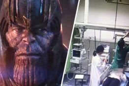 thanos/woman hospitalised after watching avengers: endgam