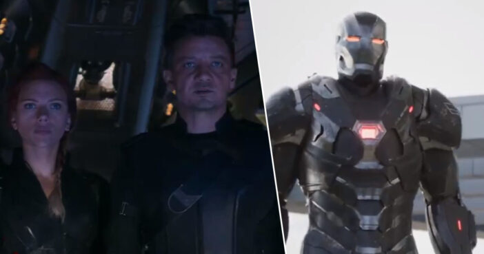 New Marvel teaser appears to show War Machine and Ant-Man Showdown.