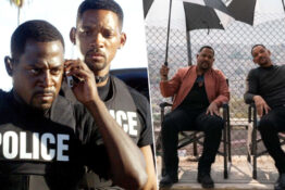 Will Smith and Martin Lawrence celebrate finishing filming Bad Boys 3