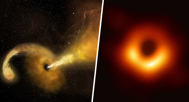 Scientists think black holes could lead to other galaxies