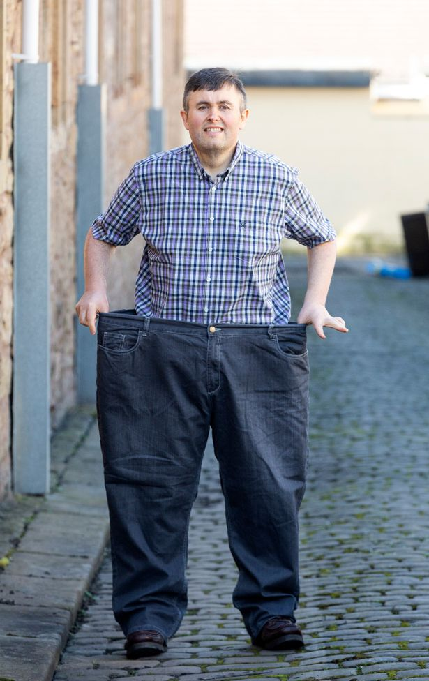 Man loses half his body weight