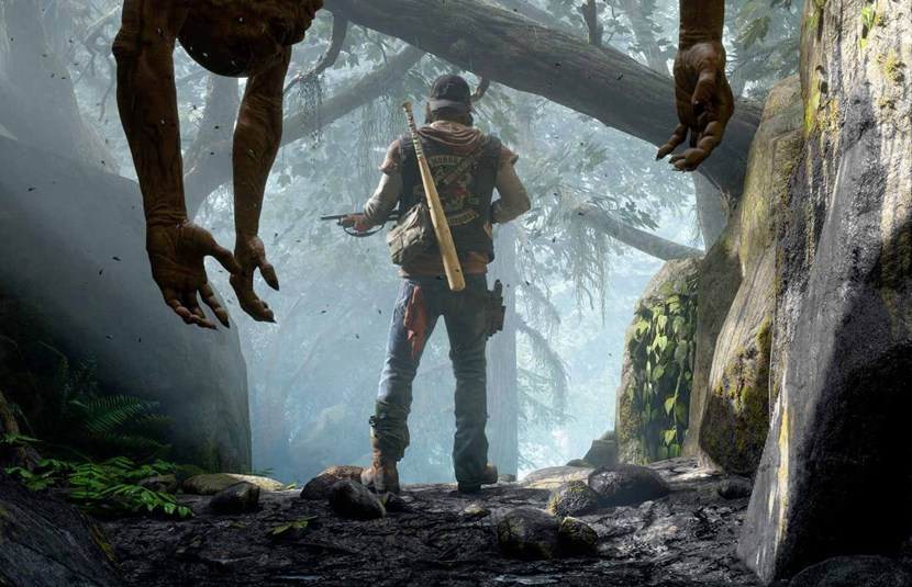 Days Gone is more like a zombie game.