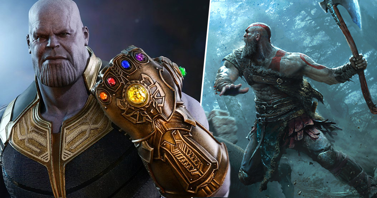 God Of War Dev Reckons Kratos Would Deck Thanos