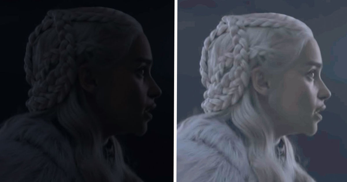 Why Game Of Thrones Episodes Are So Dark You Can Barely See The