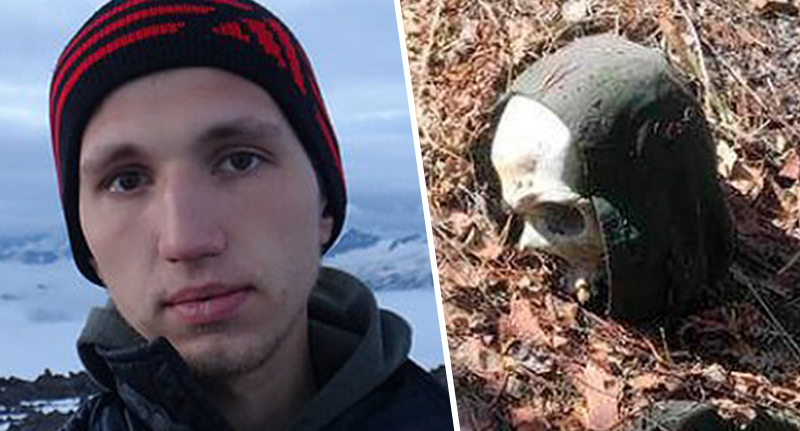 skull of 'failed houdini' who went missing two years ago found tied to tree