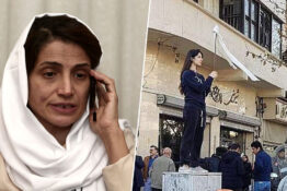 Human Rights Lawyer given a 38 year prison sentence in Iran.
