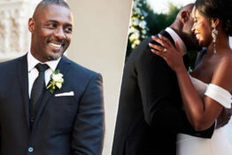 Idris Elba married