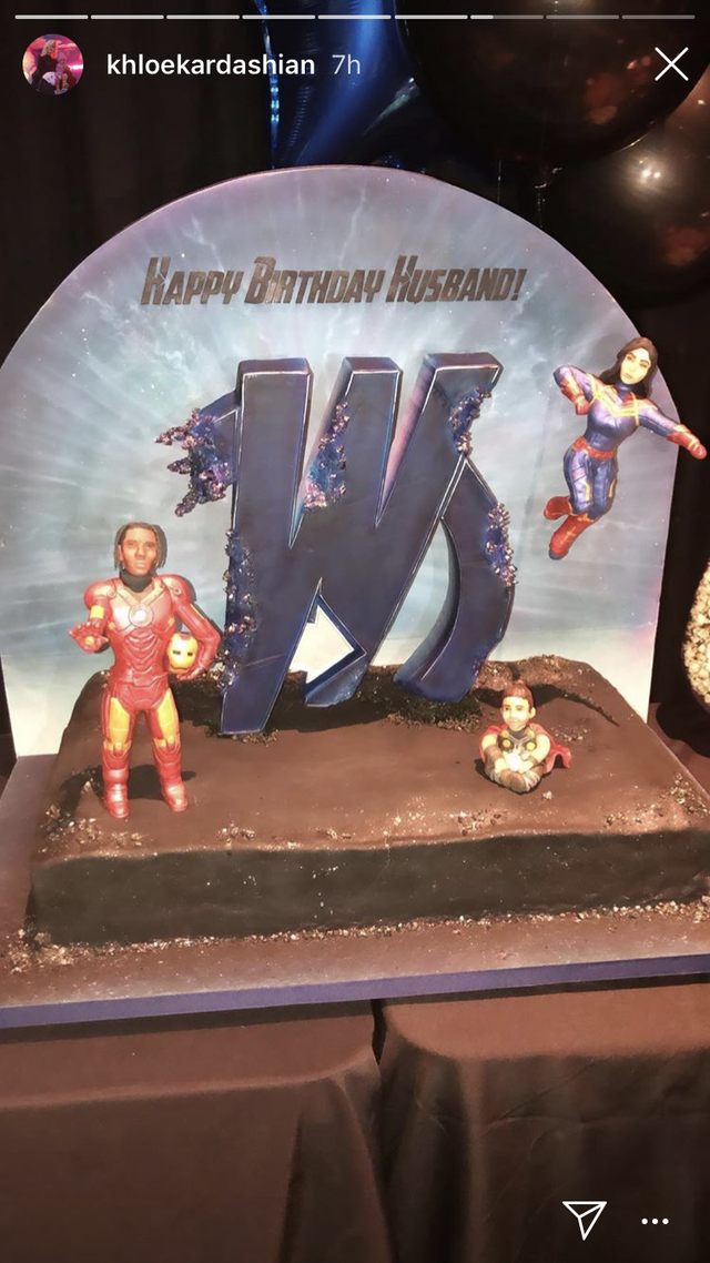 Travis Scott's birthday cake