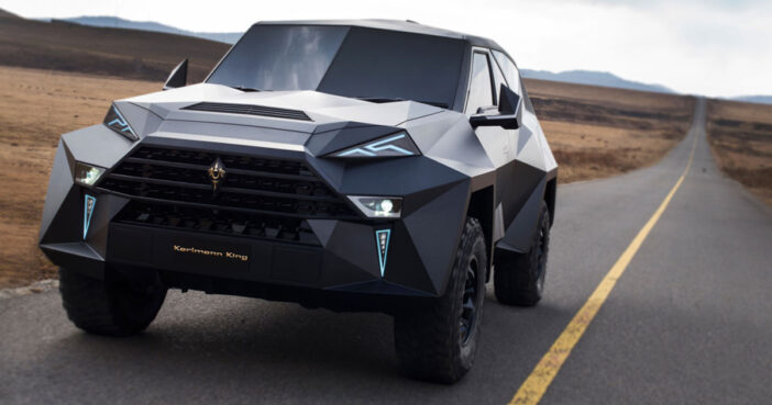 Karlmann King is the most luxurious SUV in the world.