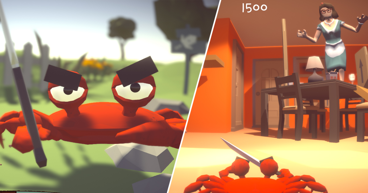 Play As A Knife-Wielding Crab In This Hilarious New Game