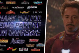 Marvel thanks fans for being part of their universe.