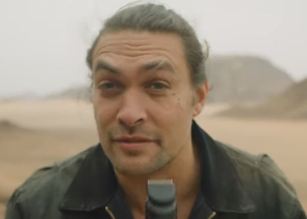 Jason Momoa with no beard
