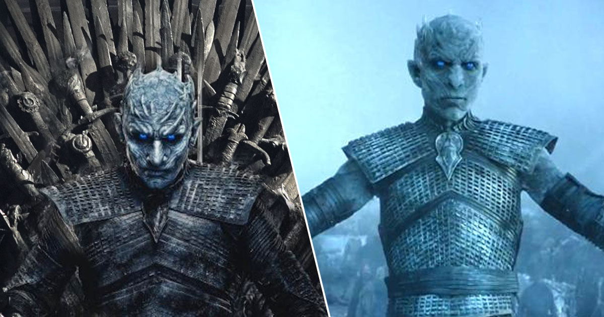 Night King from Game of thrones