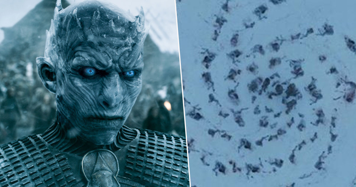 Game of Thrones writer explains what the spiral pattern means.