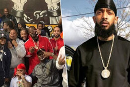 LA Gangs rally for peace after murder of Nipsey Hussle