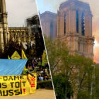 Homeless Activists Outside Notre Dame Demand A Roof Too