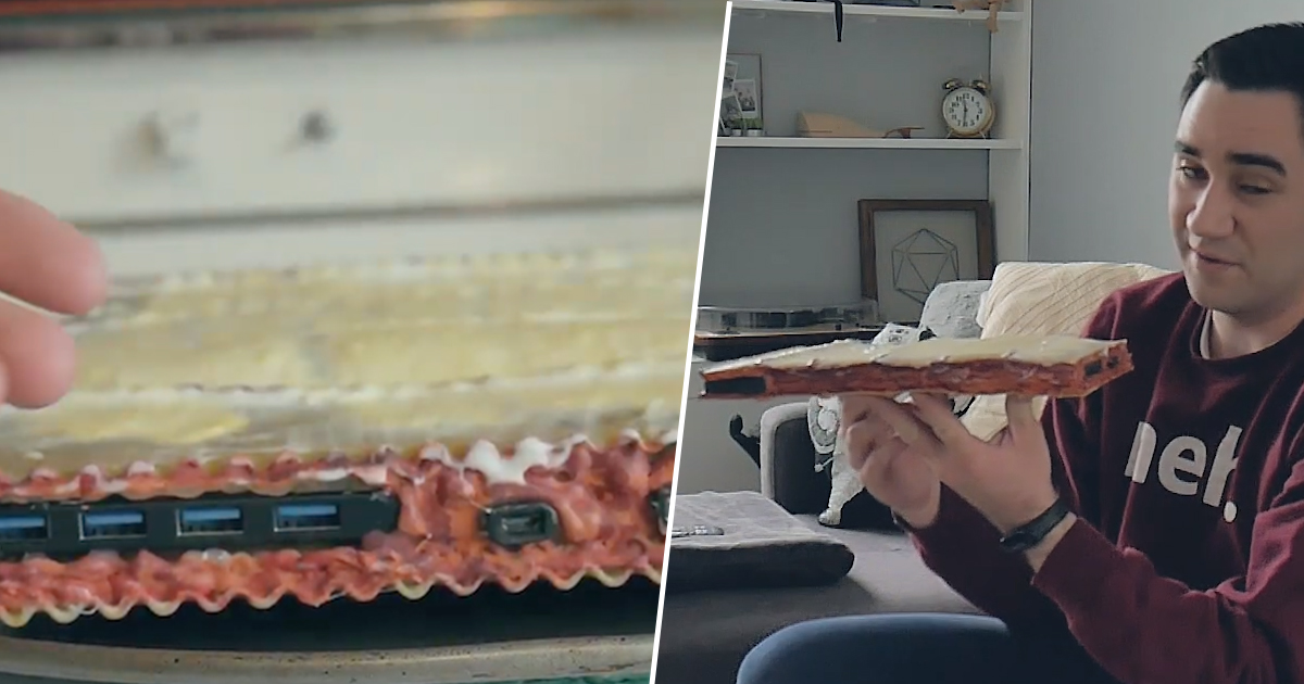 This Guy Made A PC Out Of Pasta, For Some Reason