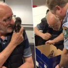 Heartwarming Moment Homeless Man Is Reunited With Lost Pet Rat