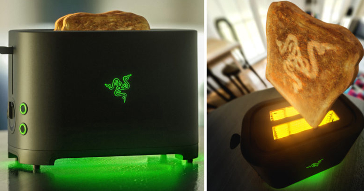 The Razer Toaster Is Finally Becoming Reality, After Five Years