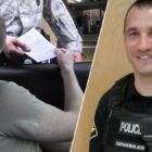 Police Officer Drives Man To Job Interview After Pulling Him Over