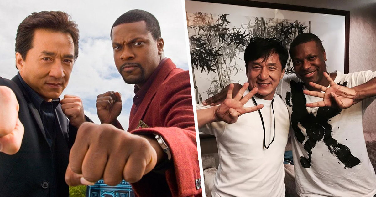 Chris Tucker and Jackie Chan tease Rush Hour 4
