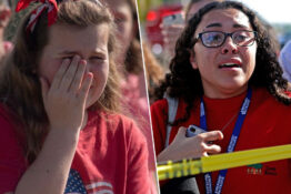 Students react to school shootings