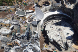 star wars land, galaxy's edge, costing $1 billion, is almost ready