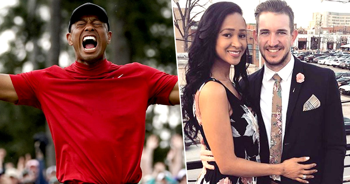 tiger woods/denise and trey little