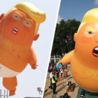 Trump Baby Blimp Is Back And Bigger Than Ever