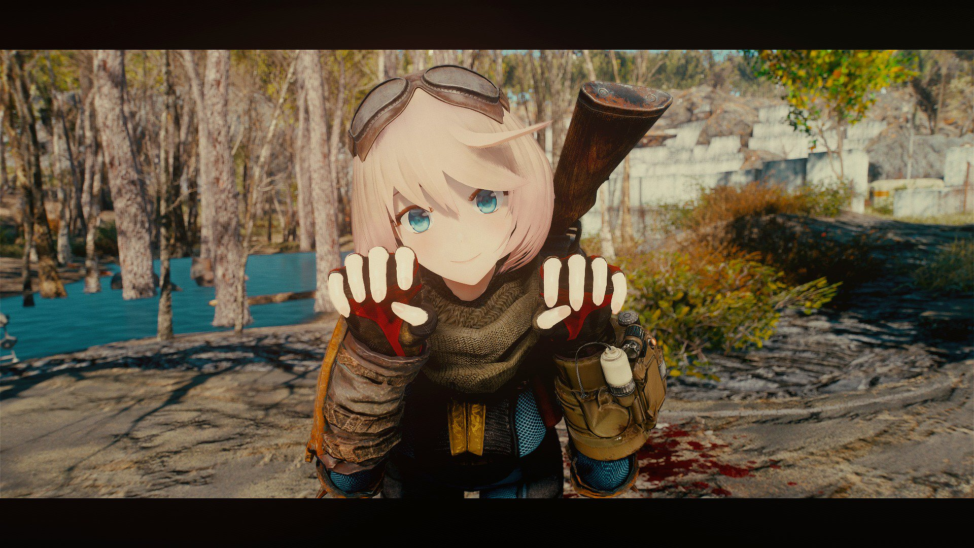 Fallout 4 Mod Gives Characters Anime Makeover