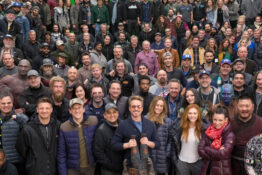 Entire cast of endgame and infinity war