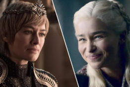 Lena Headey Cersei Lannister Emilia Clarke Daenerys Game Of Thrones
