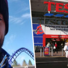 Man Refused Service At Tesco If He Bought Milkshake For Homeless Woman Outside