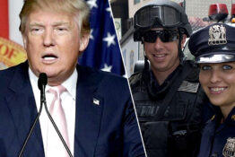 Donald Trump police officers