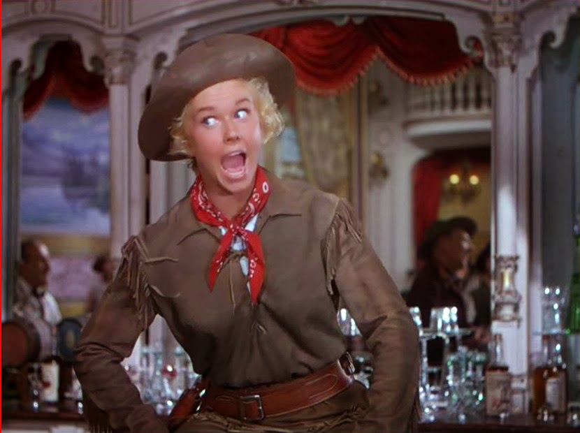 Hollywood Legend Doris Day Has Died Aged 97, pictured starring in Calamity Jane