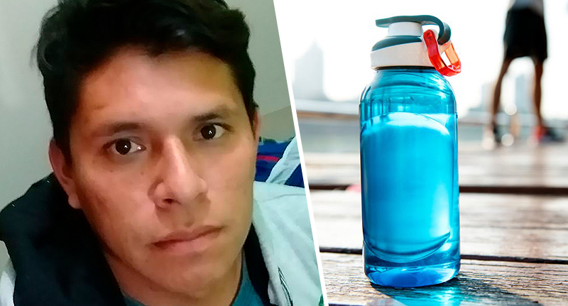Footballer has heart attack after drinking water