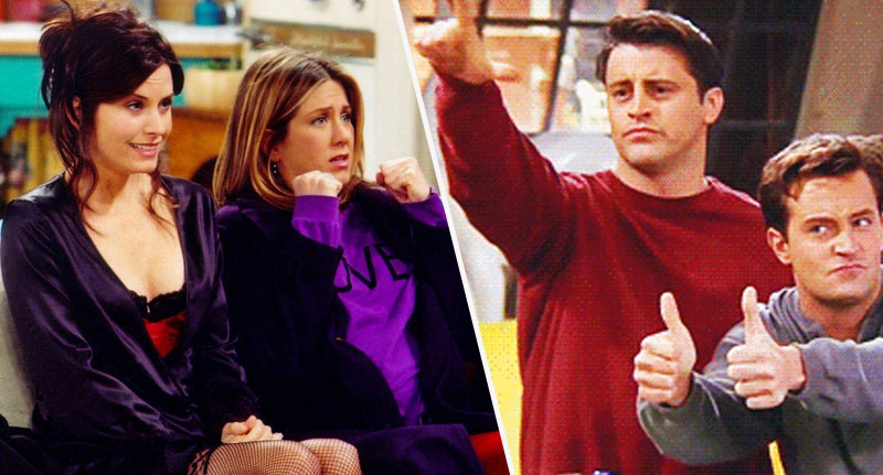 Friends still entertains millions