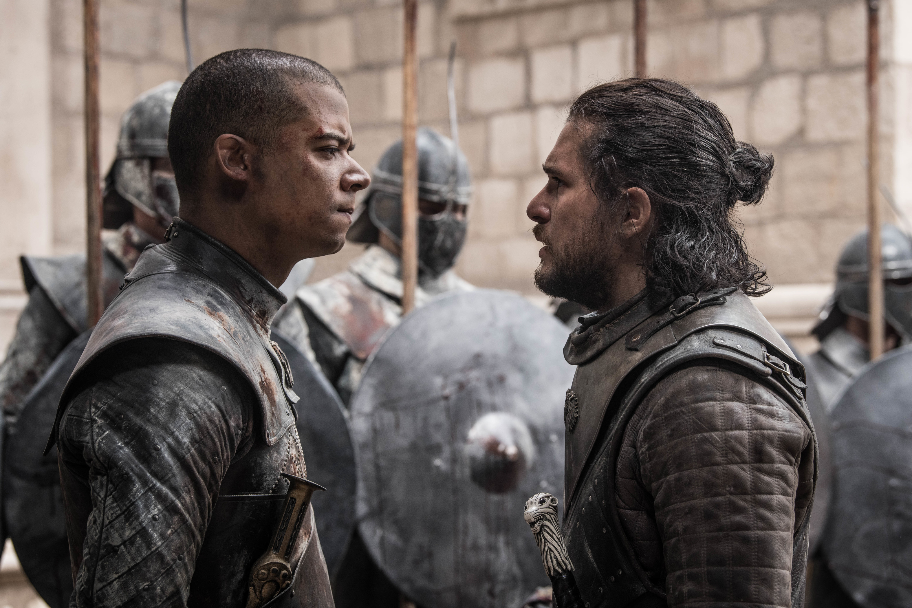 greyworm and jon